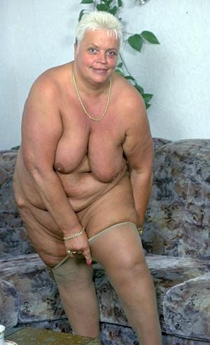 Frauen alte fette Der Händler